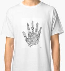 The Hand that Draws Classic T-Shirt