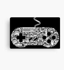 Gaming Controller Canvas Print