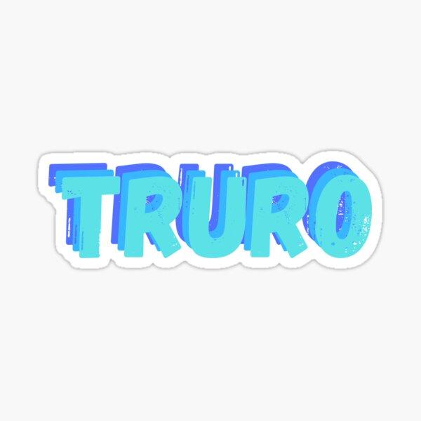 Truro handlettered Sticker