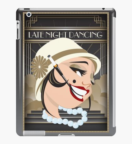 Late Night Dancing iPad Case/Skin