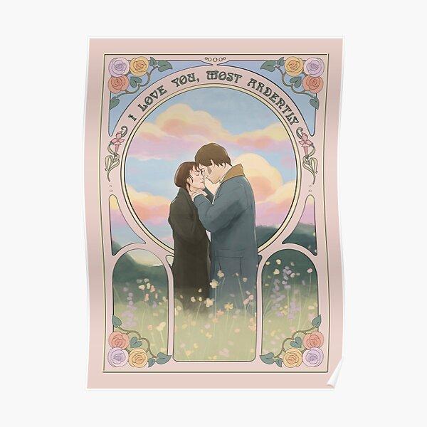 """Orgueil et préjugés """"t'aime le plus ardemment"""" Poster"""