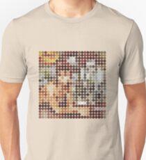 David Bowie, Diamond Dogs, Benday Dots. T-Shirt