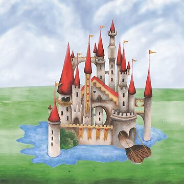 The Red Queen's Wonderland Castle by ImogenSmid