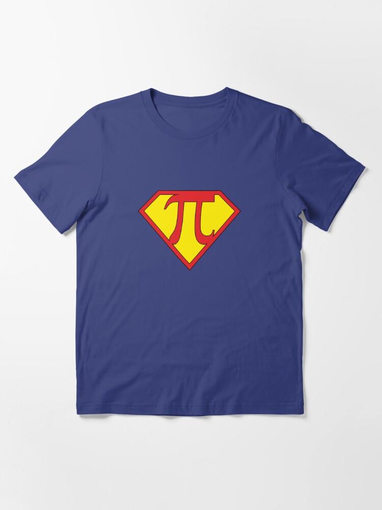 Alternate view of Super Pi Essential T-Shirt