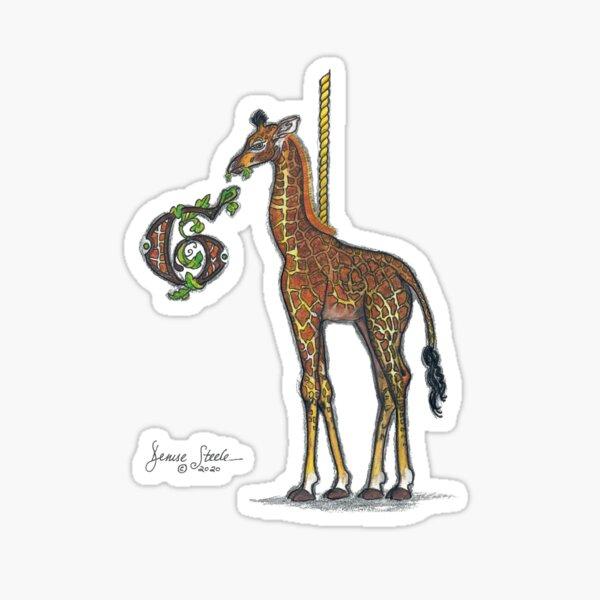 G is for Giraffe! Sticker