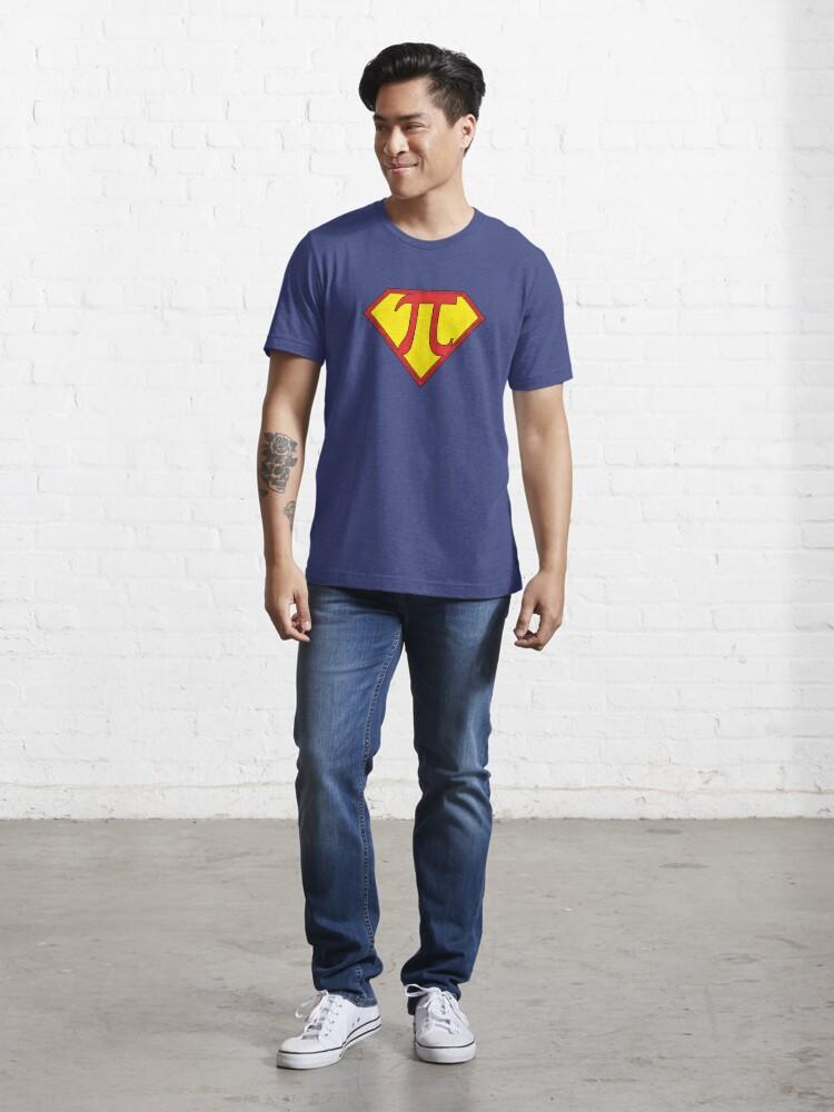 Alternate view of SuperPi Essential T-Shirt