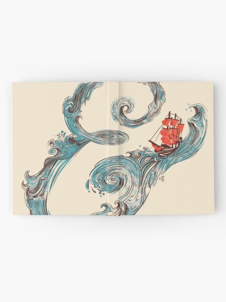 Vista alternativa de Cuaderno de tapa dura Signo de agua