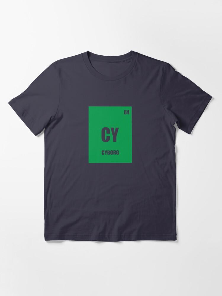 Alternate view of Cyborg Element Essential T-Shirt