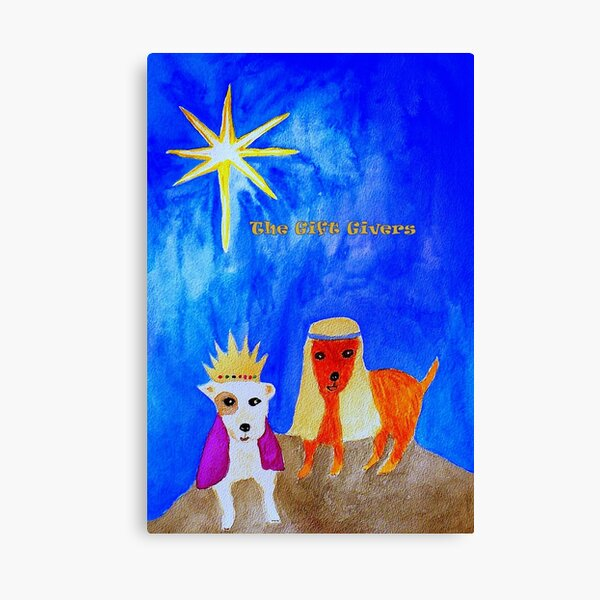 The Gift Givers Canvas Print