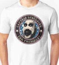 Kapitän Spaulding für den Präsidenten Slim Fit T-Shirt