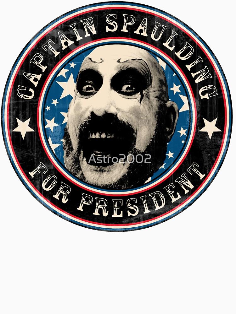 Captain Spaulding for President | Baseball  Sleeve