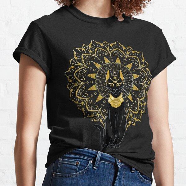Bastet egyptian goddess  Classic T-Shirt