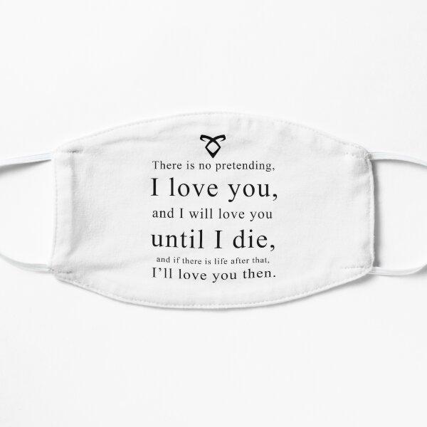 Jace Wayland - Love Quote Flat Mask