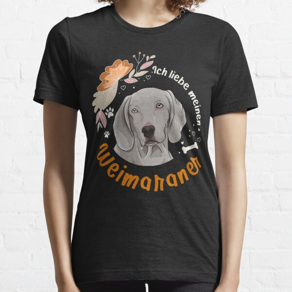 My patronus is WEIMARANER WEIMARANER Dog Gift T-Shirt