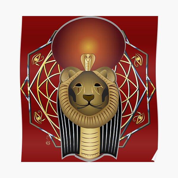 Sekhmet egyptian goddess Poster
