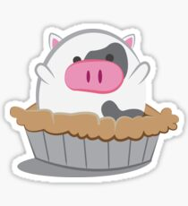 Cow Pie Sticker