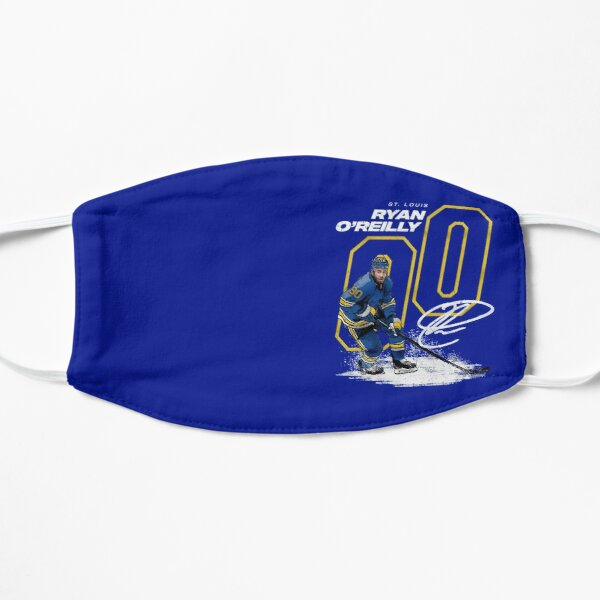 Ryan O'Reilly 90 for St Louis Blues fans Flat Mask