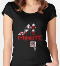 4MINUTE HATE Women's Fitted Scoop T-Shirt