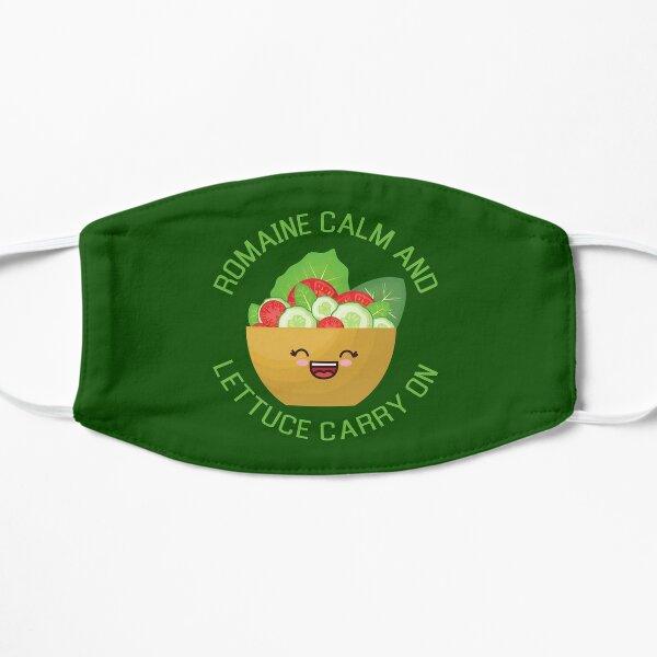 Romaine calm and lettuce carry on Kawaii Salad Mask