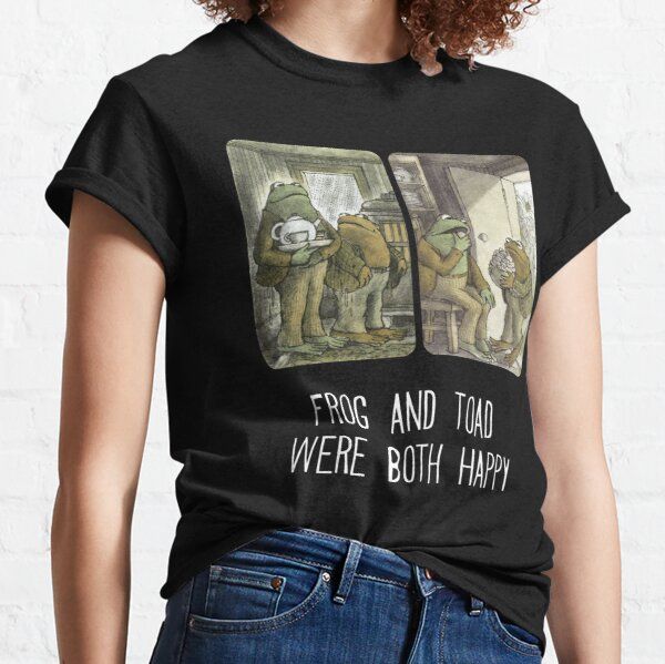 Frog and Toad Were Both Happy Classic T-Shirt