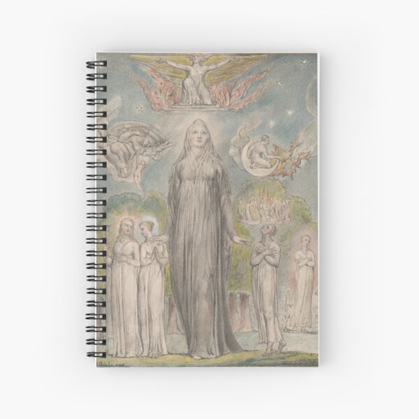 William Blake, Melancholy Cahier à spirale