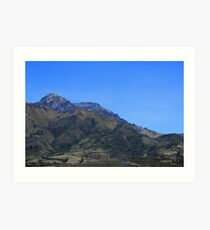 Mount Cotacachi on a Clear Day Art Print