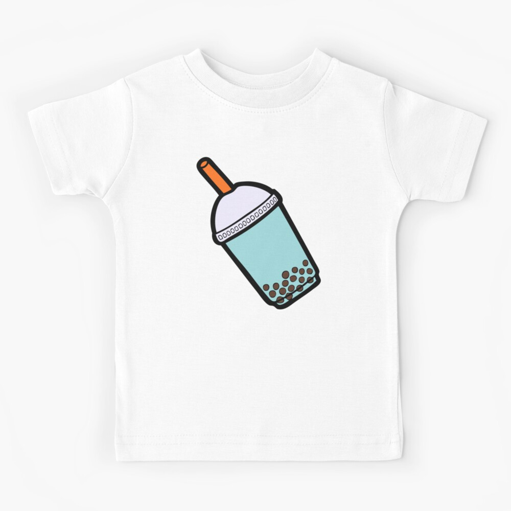 Bubble Tea Pattern Kids T-Shirt