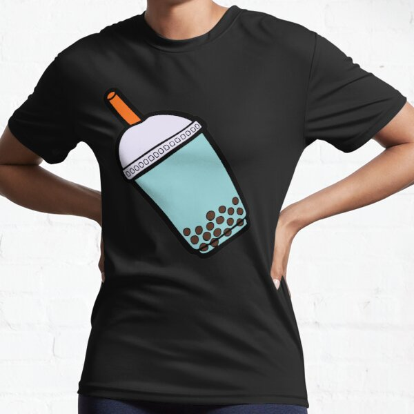 Bubble Tea Pattern Camiseta deportiva