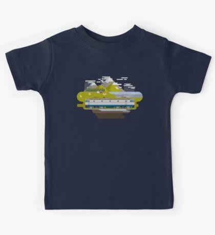 Railway Locomotive #40 Kids Clothes