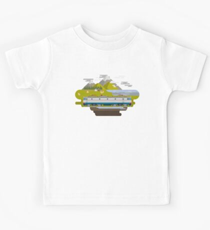 Railway Locomotive #40 Kids Clothes