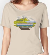 Railway Locomotive #40 Women's Relaxed Fit T-Shirt