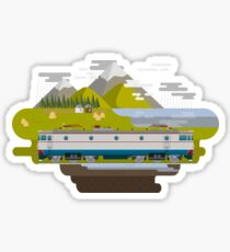 Railway Locomotive #40 Sticker