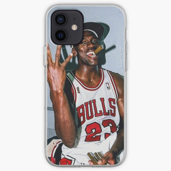 Micheal Jordan Cigar iPhone Soft Case