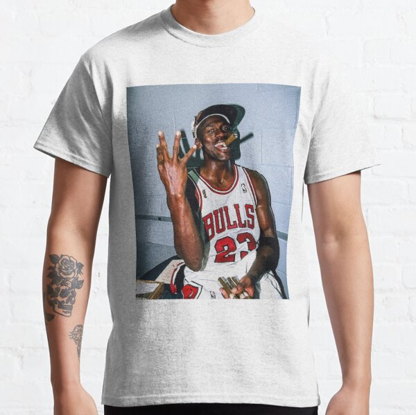 Micheal Jordan Cigar Classic T-Shirt