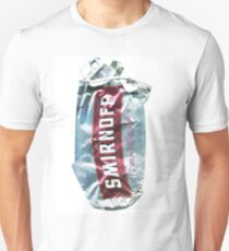 Smirnoff Cranberry - Crushed Tin T-Shirt