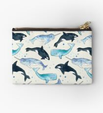 Whales, Orcas & Narwhals Studio Pouch