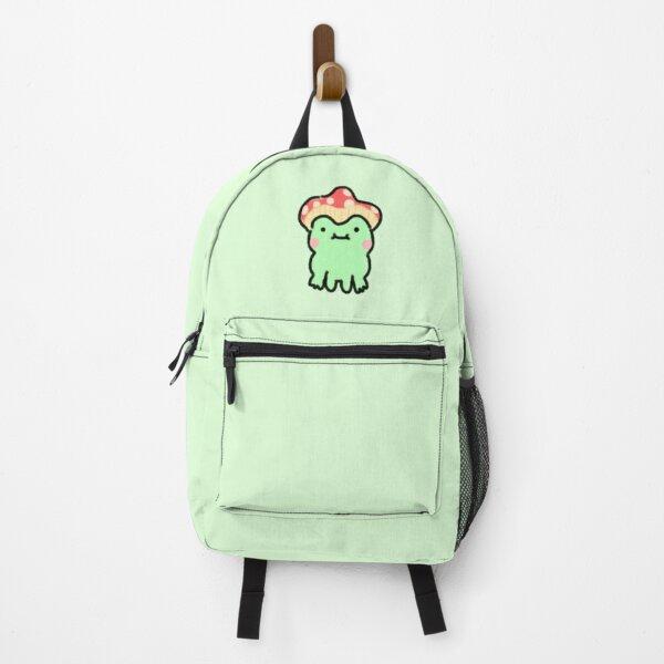 Mushroom frog Backpack