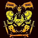 Ghouls, Ghosts, Gems & Daggers (GOLD) by strangethingsA