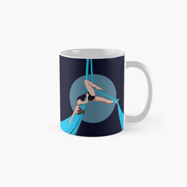 Aerial Silks Artist Blue Classic Mug