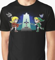 Master Sword in the Stone Graphic T-Shirt