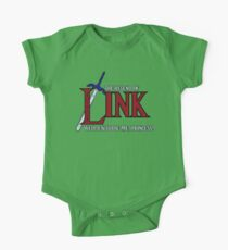 Legend of Link Short Sleeve Baby One-Piece