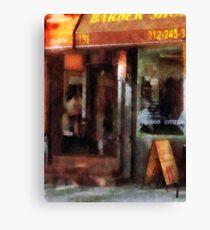 West Village Barber Shop Canvas Print