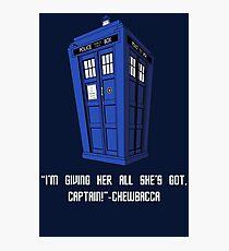 Doctor Who Misquote Photographic Print