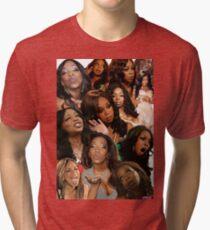 TIFFANY POLLARD: Collage Tri-blend T-Shirt