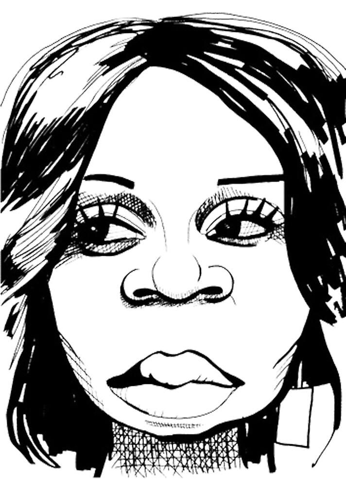 TIFFANY POLLARD: Sketch by Zach Williams