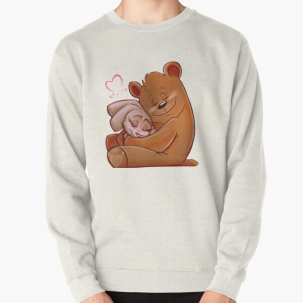 Honey Bunny Bear Pullover Sweatshirt