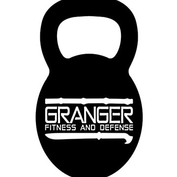 Classic Full Logo for Granger Fitness and Defense  by johngranger