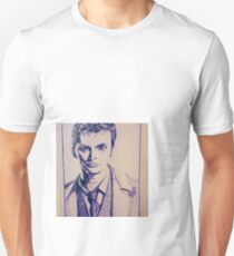 Tenth Doctor Drawing T-Shirt