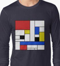 Mondrian Lines Long Sleeve T-Shirt