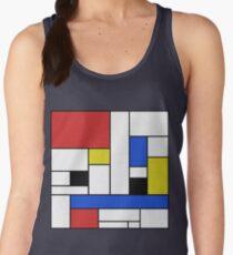 Mondrian Lines Women's Tank Top